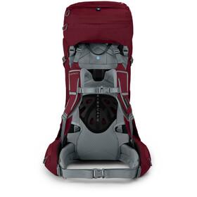 Osprey Ariel 55 Backpack Women, claret red